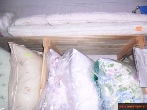 Подушки с разными наполнителями